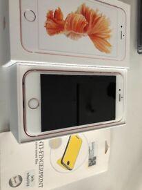 Iphone 6s UNLOCKED rose gold 16gb