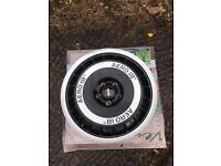 "Ronal R50 aero alloy wheels 18"" 5x112 Audi A4 A6 seat Leon vw golf Jetta t4"