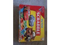 Cars. My first scrabble