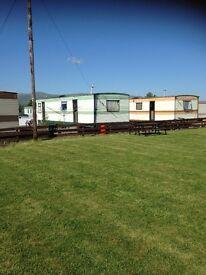 Long term let caravan in Stirling