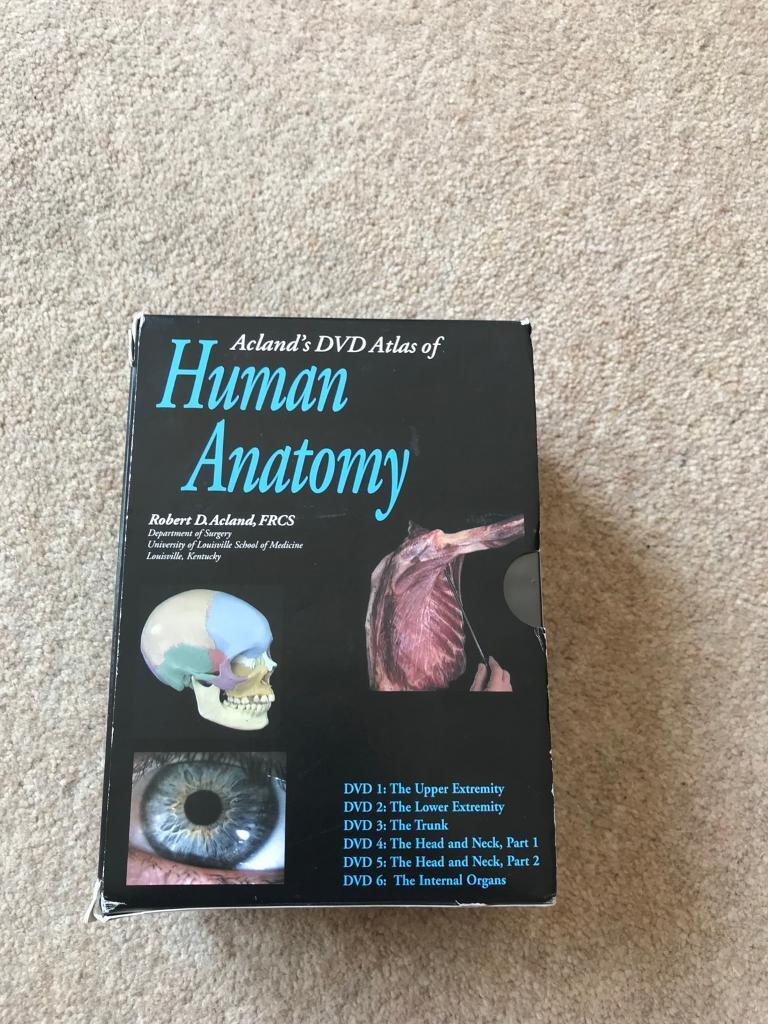 Aclands Dvd Atlas Of Human Body Physiotherapymedical Students