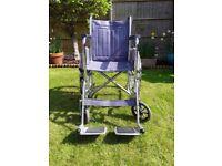 Wheelchair - Self propelled