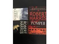 3 x Robert Harris books, Pompeii, imperium, archangel