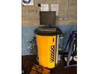 Boston Garage MOT Emissions Testing Machine Full KIT