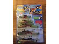 Bass pollack summer fish lures ideal fishing gift