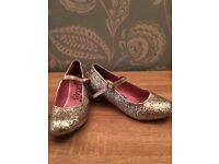 Sparkly girls shoes size 1 excellent condition