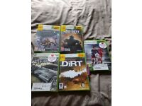 Xbox 360 for sale with Kinect with 11 games all leads included and 1 controller