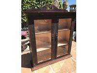 Victorian Pine Glazed Bookcase
