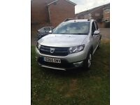 Dacia sandero step way (65 plate)Genuine reason for sale