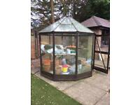 Greenhouse - 8ft, 10 sided