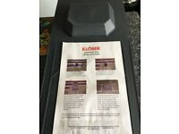Klober small roof vents x 4 (NEW)