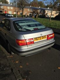 **Immediate sale Toyota Carina** contact 07980967199