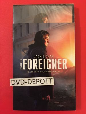 THE FOREIGNER DVD & Slipcover JACKIE CHAN {{{AUTHENTIC READ}}} New Free Shipping