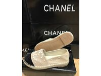 womens Ladies Chanel Espadrilles sizes 3-8