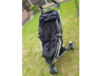Maxi Cosi CabrioFix Car seat with Quinny Zapp xtra front/rear facing travel system pram/pushchair