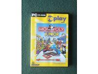 Monopoly Junior PC CD-ROM Game