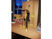 Tall bathroom or kitchen tap - chrome