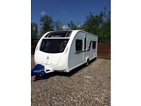 2014 Swift challenger sport 514 fixed bed 4 berth