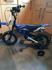 Kids motocross pedal bike