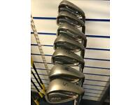 PING G25 IRONS. 5-SW. REG FLEX. GOOD CONDITION