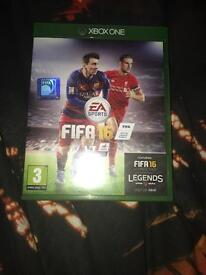 Xbox one game- Fifa 16