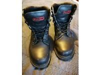 Black Rock Unisex Safety Boots Steel Toe Caps