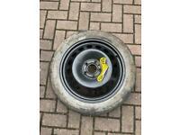 "17"" Spare wheel 4x17x50 T125/80/17"