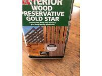 15L of Exterior wood preservative gold star