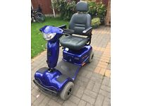 Invacare ariga 8 mobility scooter, excellent condition with 2 new batteries.