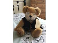 HERMANN SPIELWAREN GRANDFATHER LIMITED EDITION MOHAIR BEAR 207 of 500
