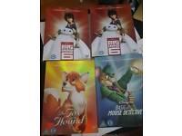 Disney Dvds sealed