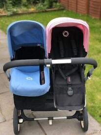 Bugaboo Donkey Duo stroller (version May 2015) + Maxi Cosy adapter