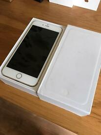 iPhone 6 128gb gold unlocked comes with box and charger
