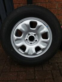 Dacia Duster Alloy wheel and Tyre ...Brand New.