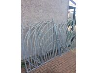 12ft galvanised steel gates 3/4 inch thick