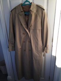 Vintage, retro Burberry trench coat