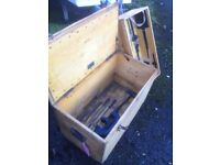 Eckhart and Lohkamp Berlin chest from the 1940's with lift-out drawer
