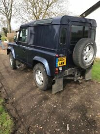 A very tidy example of a defender tdci