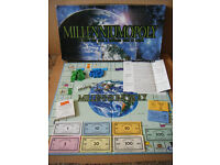 """MILLENNIUMOPOLY"", monopoly type game, produced by Late for the sky games in 2001."