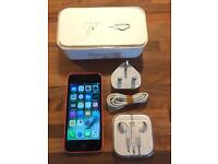 iPhone 5c, Unlocked, Fully Boxed, Good Condition.