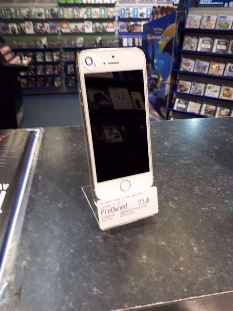 Apple iPhone 5s 16GB Gold -- o2