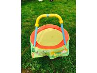Little trampoline out door or inside use toys