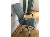 Charles Eames Replica Office Chair - dark grey