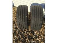 Run flat tyres, Bridgestone Potenza 225-50-R17