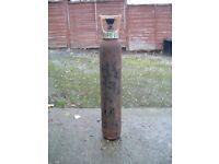 EMPTY VAUX PUB CO2 GAS BOTTLE