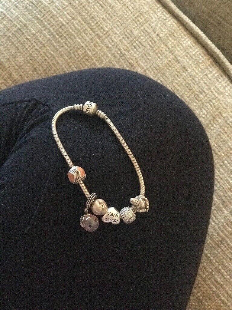 52b068572f51c Genuine Pandora.. bracelet and charms | in Hythe, Kent | Gumtree