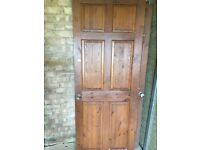 wooden internal doors