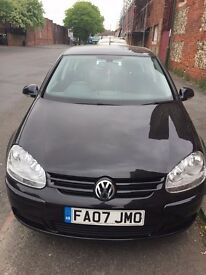 VW Golf Match FSI 1.6, Black, Air Con, Power steering, Nice CD Music, lovely and clean, MOT and Tax