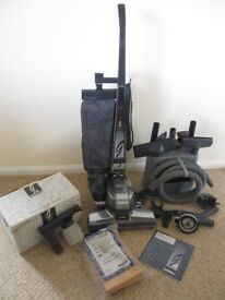 Kirby vacuum cleaner with carpet cleaner and lots of attachments