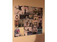 "Banksy Canvas Print - 30""x30"" (76cm x 76cm)"